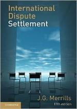 Merrills, International Dispute Resolution, 5th ed. book cover