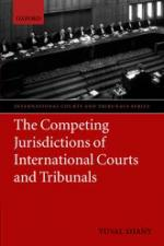 Shany, Competing Jurisdictions of International Courts and Tribunals book cover