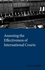 Shany, Assessing the Effectiveness of International Courts and Tribunals book cover